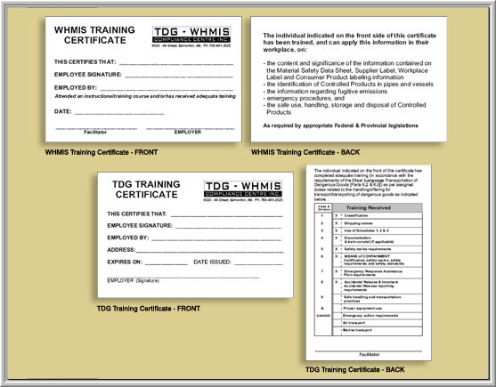 forklift training certificate template