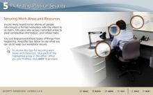 Information security awareness training screenshot 5