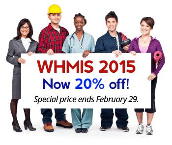We speak WHMIS 2015.