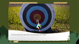 Archery Essentials course screenshot